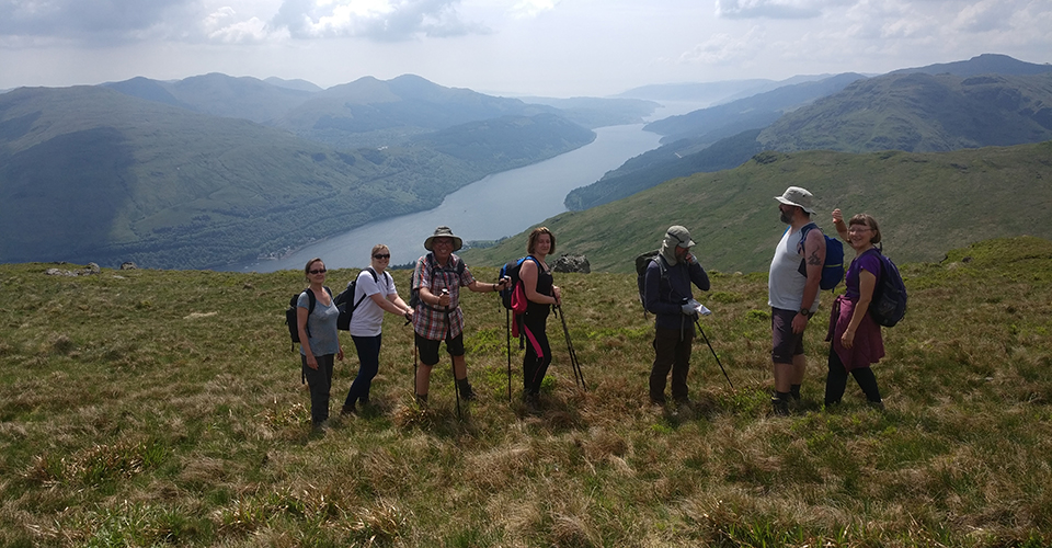 Glasgow Ramblers at Ben Nairn