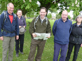 Jonathan Djanogly MP joins Ramblers walk through Ouse Estuary Nature Reserve
