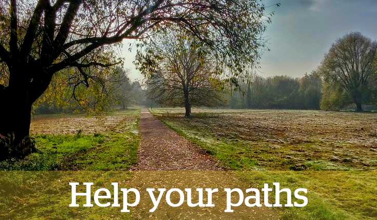 Help your paths