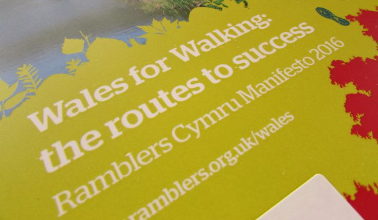Wales for Walking manifesto document