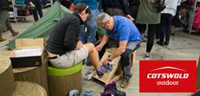 Cotswold Outdoor - boot fitting