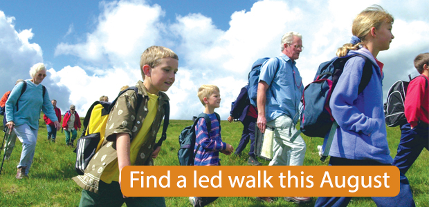 Find a led walk this August