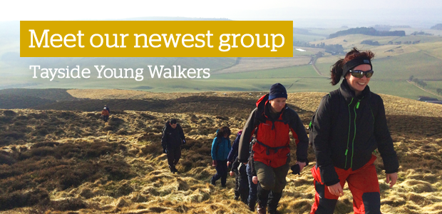 Tayside young walkers