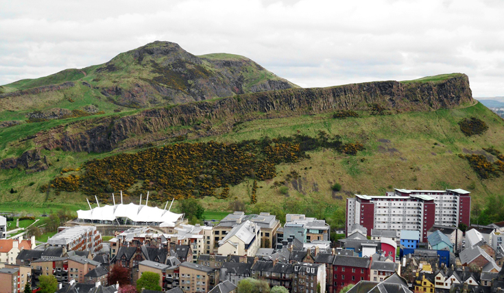 Arthurs Seat and Holyrood