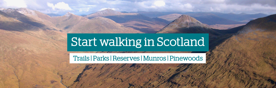 Start walking in Scotland