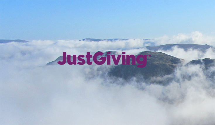 Donate today on JustGiving