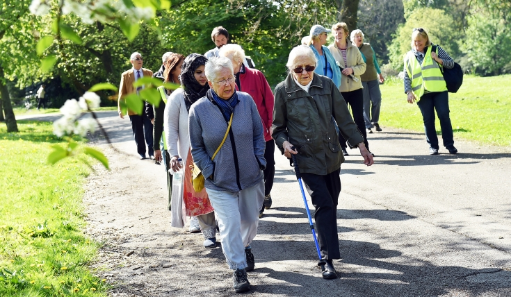 Walking for Health in Bowling Park