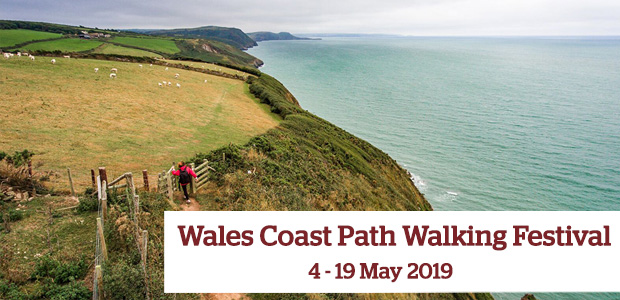 Wales Coast Path Festival 4-19 May 2019