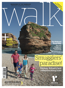 Walk magazine cover summer 2014