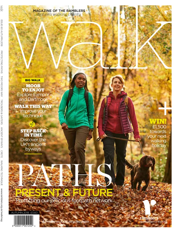 Walk Magazine Cover - Autumn 2018