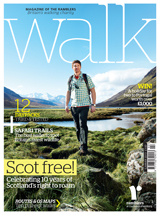 Walk magazine winter 2013 cover