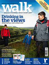 Walk magazine winter 2010 edition cover