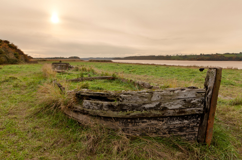Ship's Graveyard, Purton in Gloucestershire
