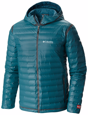 Mens Columbia Outdry Down jacket