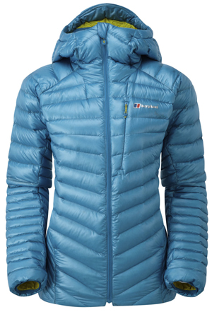 Women's Berghaus Extrem Micro Down jacket blue