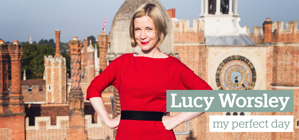 Lucy Worsley my perfect day slider
