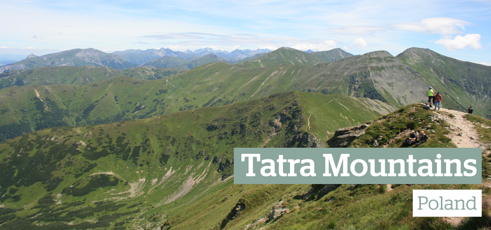 Tatra Mountains Poland slider