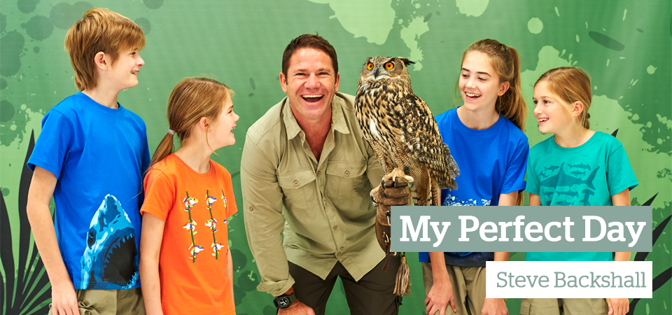 My Perfect Day with Steve Backshall