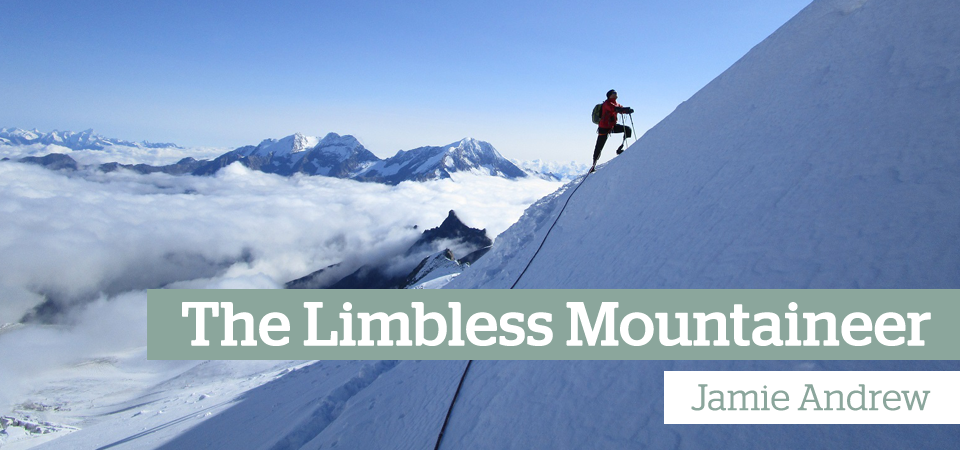 Jamie Andrew Limbless Mountaineer