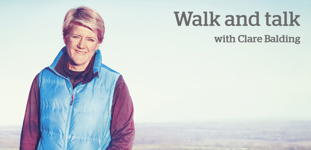 Walk and talk with Clare Balding