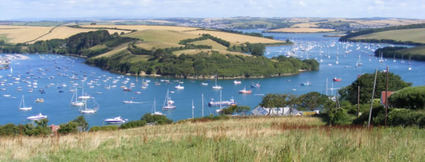 Kingsbridge and Salcombe estuary