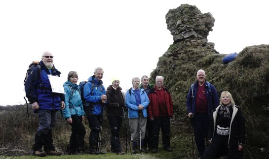Historical Interest Walk in Kenfig Nature Reserve