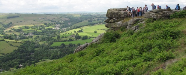 Sandwell Ramblers with Gritstone